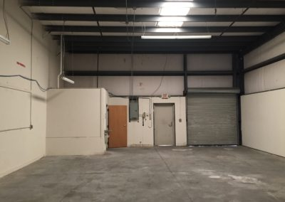 New Warehouse Space September 2017